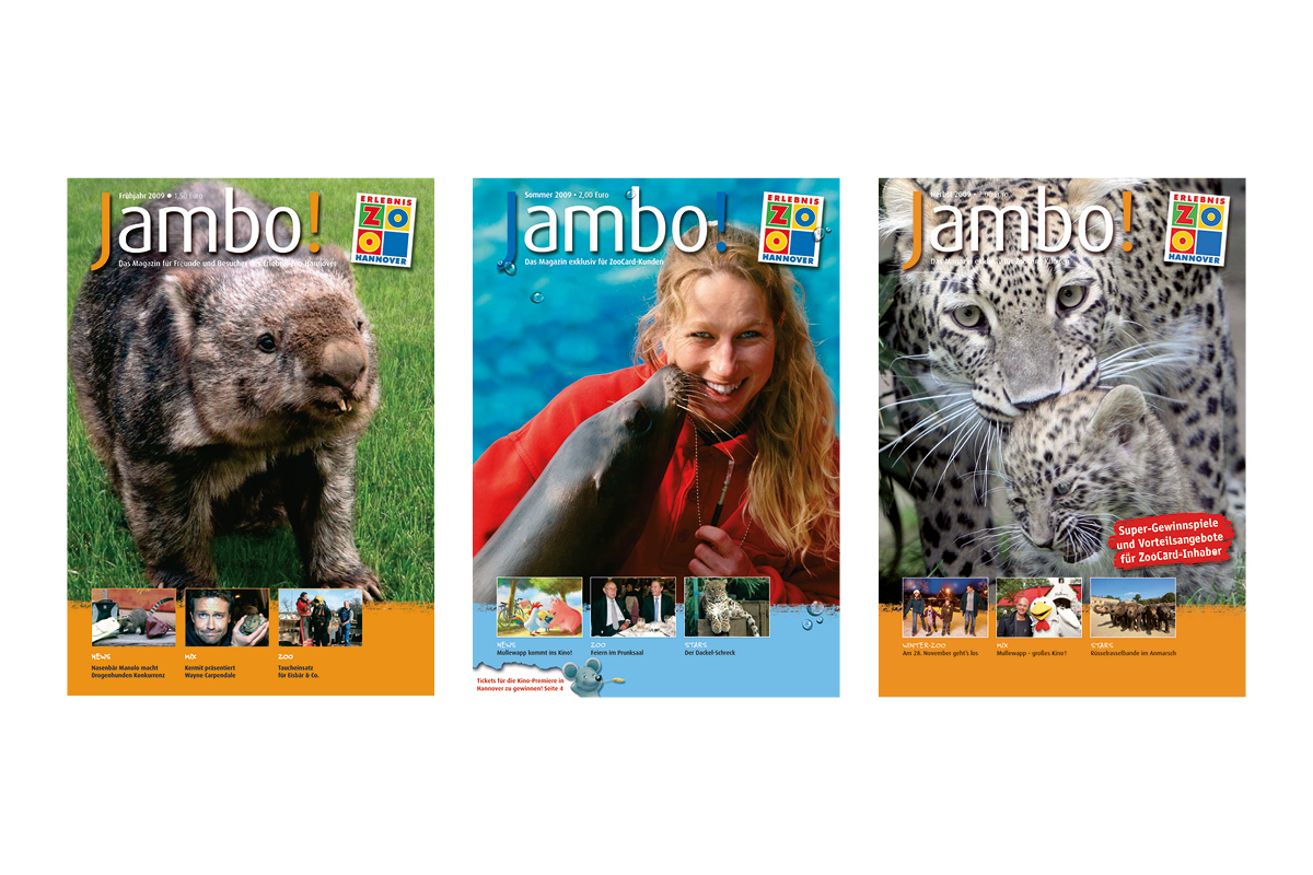 Jambo-Cover Jahr 2009_Erlebnis-Zoo Hannover