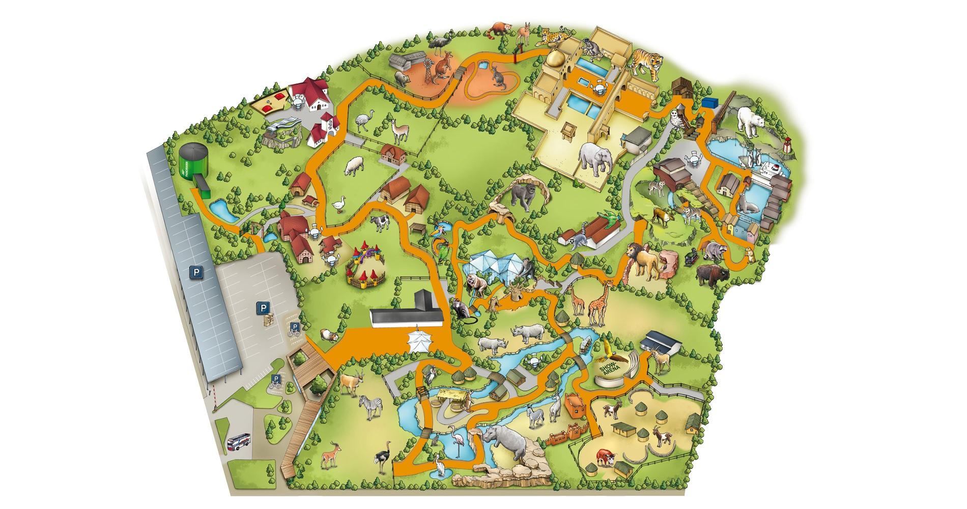 Zoo Plan Und Downloads Erlebnis Zoo Hannover