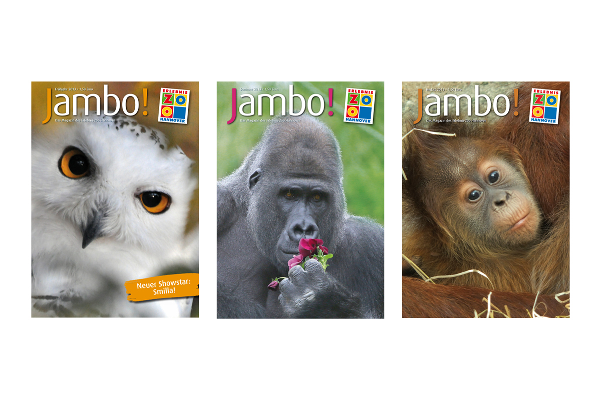 Jambo-Cover Jahr 2013_Erlebnis-Zoo Hannover
