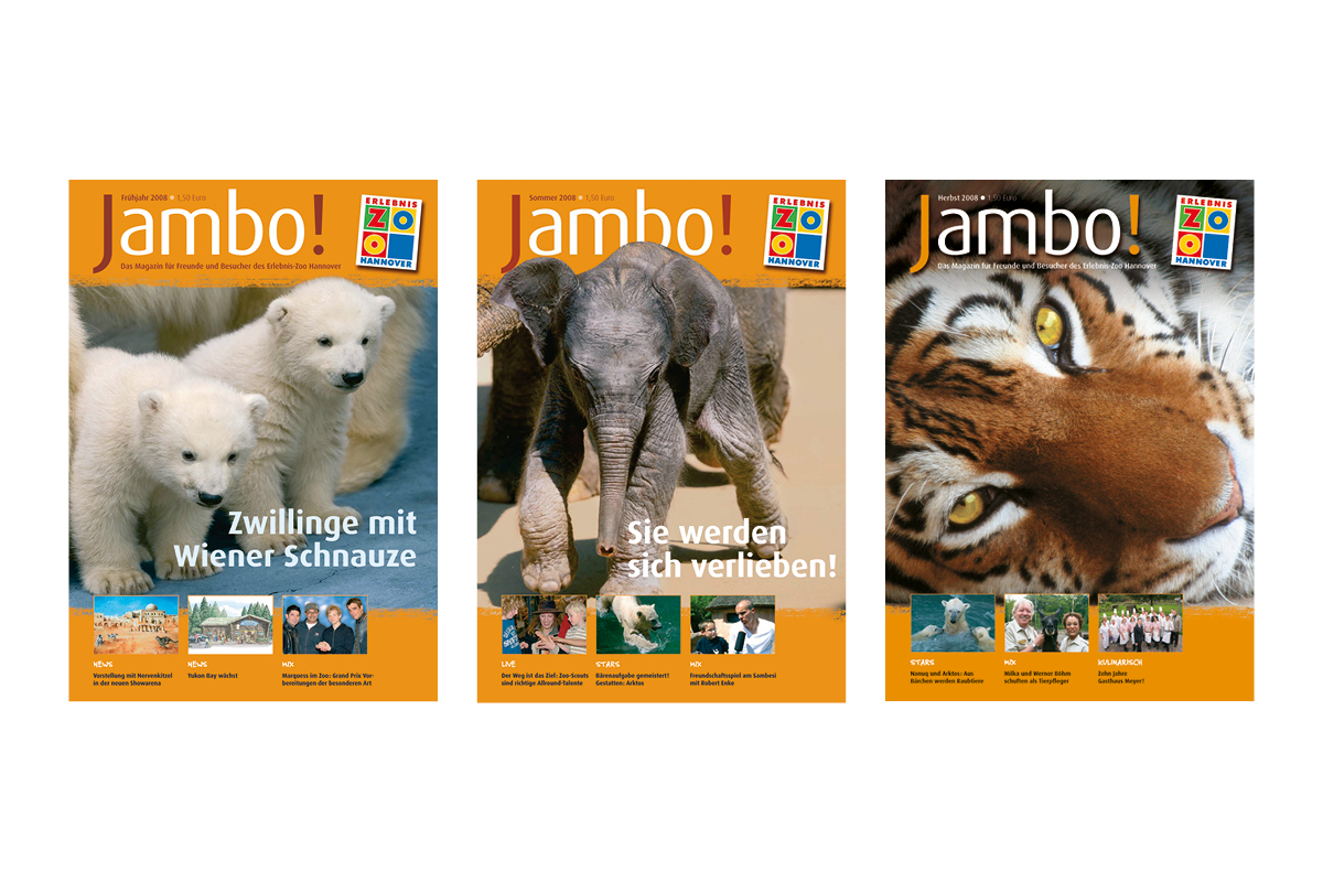Jambo-Cover Jahr 2008_Erlebnis-Zoo Hannover
