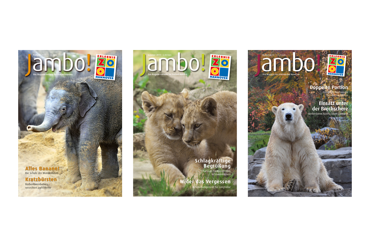 Jambo-Cover Jahr 2011_Erlebnis-Zoo Hannover