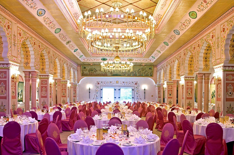 Hochzeitsfeier Im Prunksaal Des Maharadschas