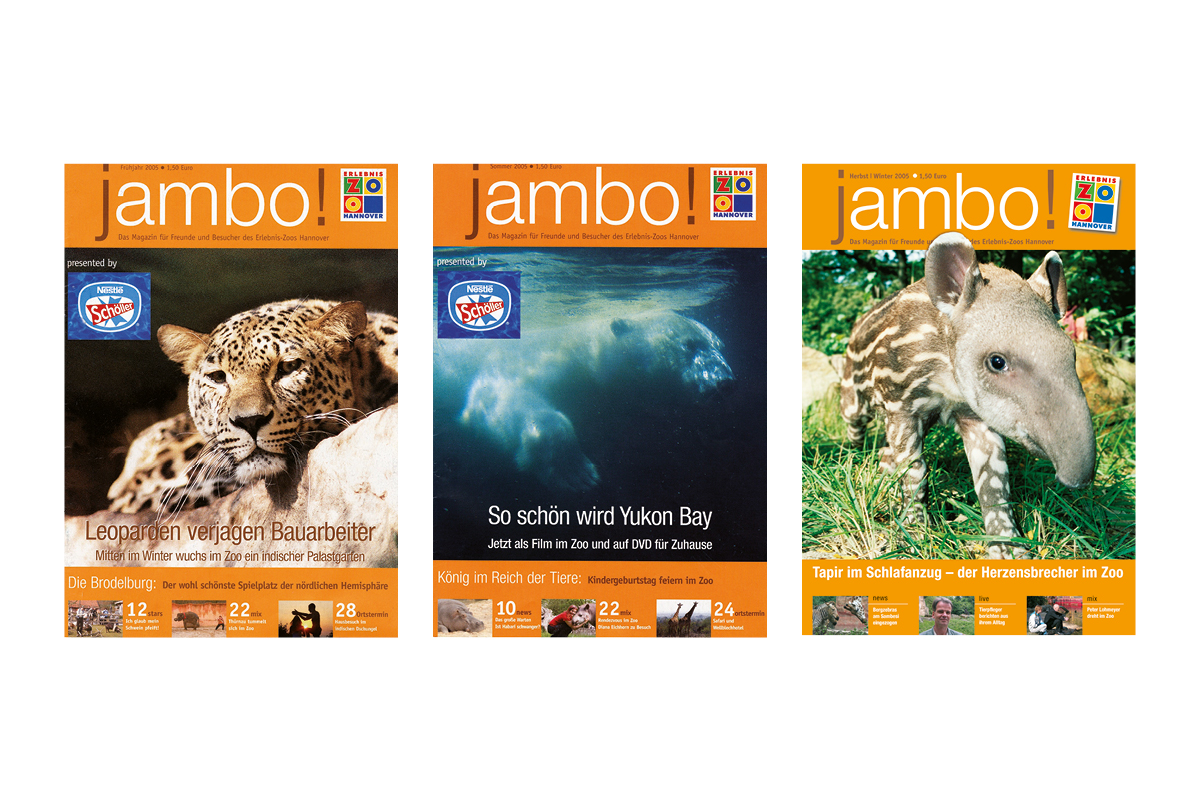 Jambo-Cover Jahr 2005_Erlebnis-Zoo Hannover