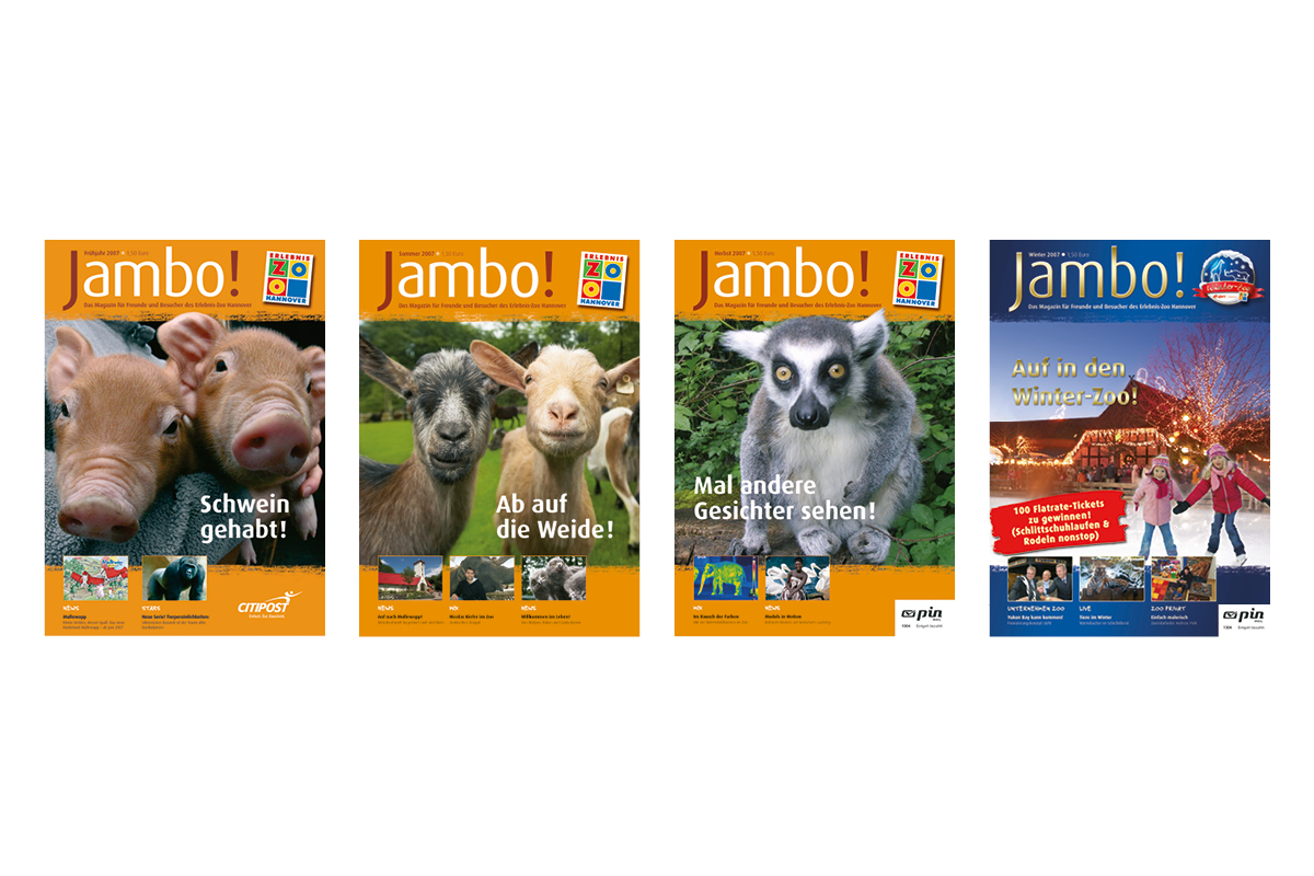 Jambo-Cover Jahr 2007_Erlebnis-Zoo Hannover