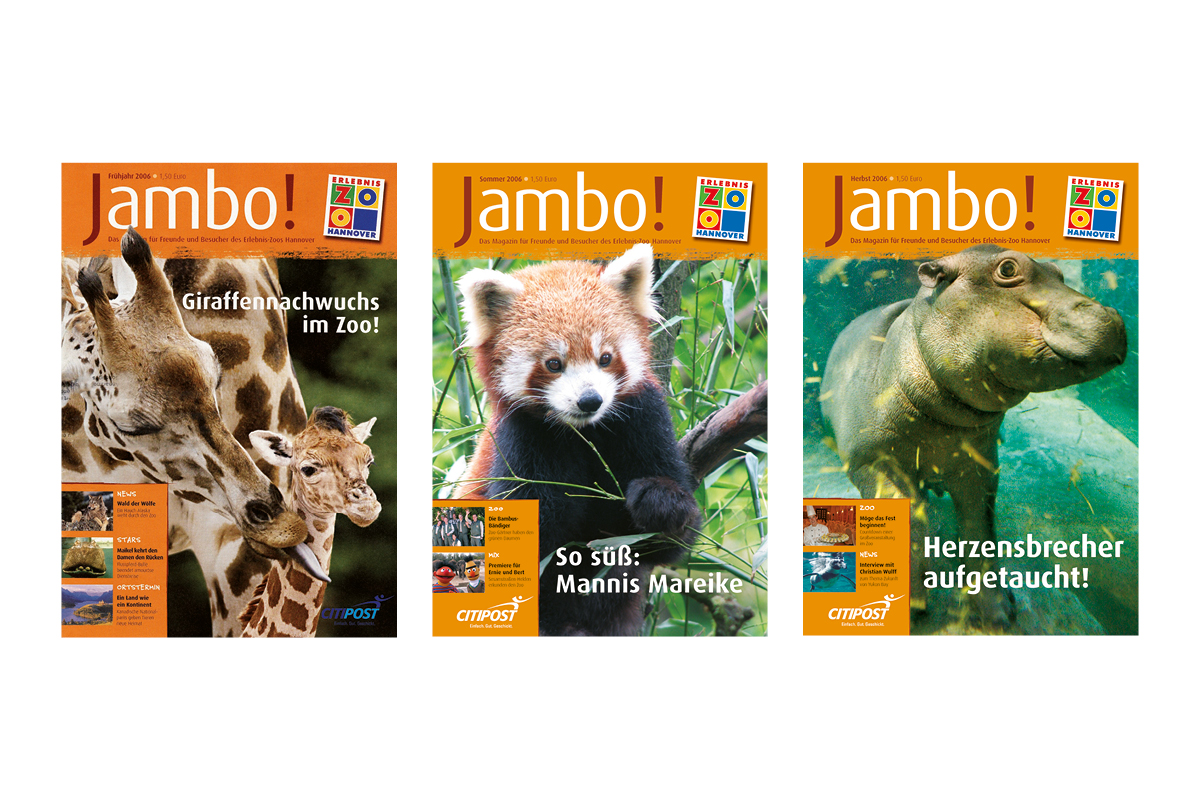 Jambo-Cover Jahr 2006_Erlebnis-Zoo Hannover